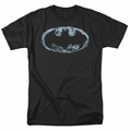 Batman t-shirt Smoke Signal mens black