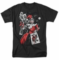 Harley Quinn t-shirt Smoking Gun mens black