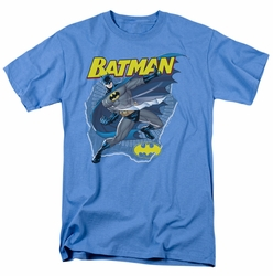 Batman t-shirt Taste The Metal mens carolina blue