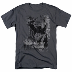 Batman t-shirt The Knight Life mens charcoal