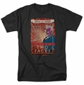Two-Face t-shirt Two Faces mens black