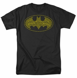 Batman t-shirt Type Logo mens black