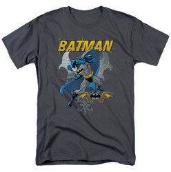 Batman t-shirt Urban Gothic mens charcoal
