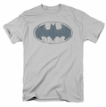 Batman t-shirt Water Sketch Signal mens silver
