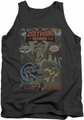 Batman tank top #232 Cover adult charcoal