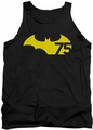 Batman tank top 75 Logo 2 adult black
