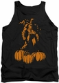 Batman tank top A Bat Among Pumpkins adult black