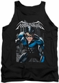 Nightwing tank top A Legacy adult black