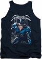 Nightwing tank top A Legacy adult navy
