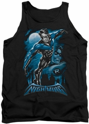 Nightwing tank top All Grown Up adult black