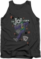 Batman tank top Always A Joker adult charcoal