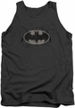 Batman tank top Arcane Bat Logo adult charcoal