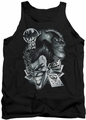 Batman tank top Archenemies adult black