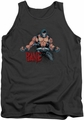 Batman tank top Bane Flex adult charcoal