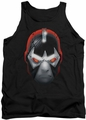 Batman tank top Bane Head adult black