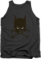 Batman tank top Bat And Bones adult charcoal