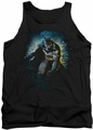Batman tank top Bat Cave adult black