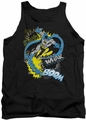 Batman tank top Bat Effects adult black