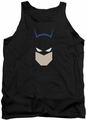 Batman tank top Bat Head adult black