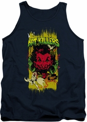 Batman tank top Bat Killers 2 adult navy