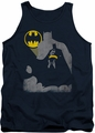 Batman tank top Bat Knockout adult navy