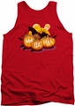Batman tank top Bat O Lanterns adult red