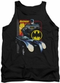 Batman tank top Bat Racing adult black