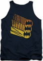 Batman tank top Bat Signal Shapes adult navy