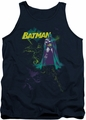 Batman tank top Bat Spray adult navy