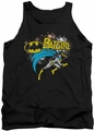 Batman tank top Batgirl Halftone adult black