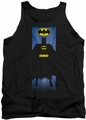 Batman tank top Batman Block adult black