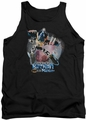 Batman tank top Batman Mech adult black