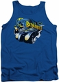 Batman tank top Batmobile adult royal