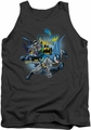 Batman tank top Call Of Duty adult charcoal