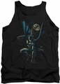 Batman tank top Calling All Bats adult black