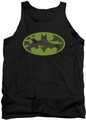Batman tank top Camo Logo adult black