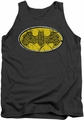 Batman tank top Celtic Shield adult charcoal