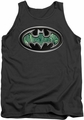 Batman tank top Circuitry Shield adult charcoal