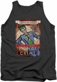 The Joker tank top Clown Prince adult charcoal