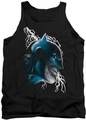 Batman tank top Crazy Grin adult black
