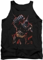 Batman tank top Crimson Knight adult black