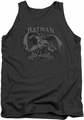 Batman tank top Crusade adult charcoal