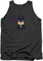 Batman tank top Cute Batman adult charcoal