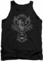 Batman tank top Dark Knight Heraldry adult black