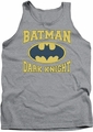 Batman tank top Dark Knight Jersey adult heather
