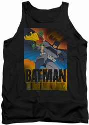 Batman tank top Dark Knight Returns adult black