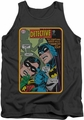 Batman tank top Detective #380 adult charcoal