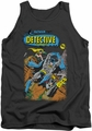 Batman tank top Detective #487 adult charcoal