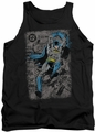 Batman tank top Detective #487 Distress adult black
