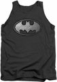 Batman tank top Duct Tape Logo adult charcoal